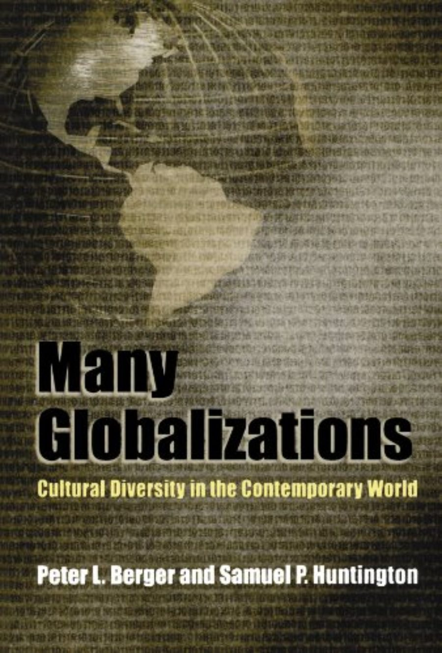 Cover of Many Globalizations: Cultural Diversity in the Contemporary World