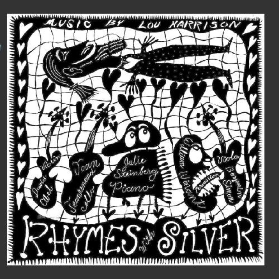 Cover of Lou Harrison: Rhymes with Silver