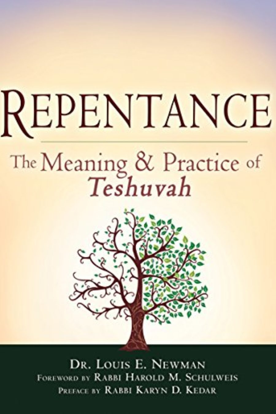 Cover of Repentance: The Meaning and Practice of <em>Teshuvah</em>