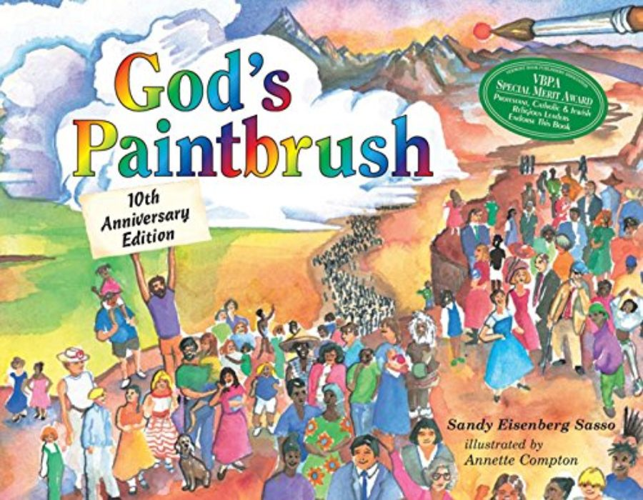 Cover of God's Paintbrush: Tenth Anniversary Edition