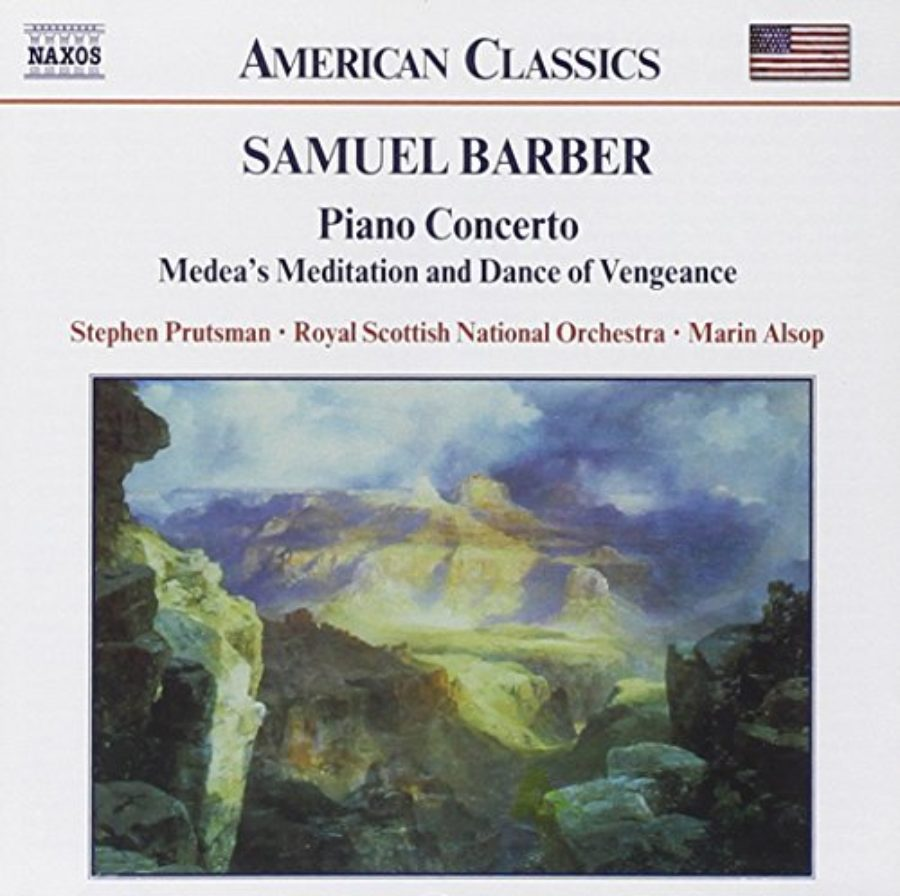 Cover of Barber: Piano Concerto / Medea's Meditation and Dance of Vengeance