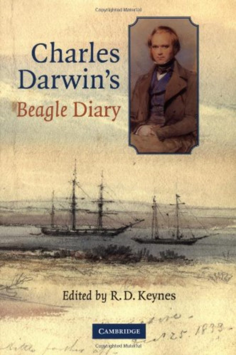 Cover of Charles Darwin's Beagle Diary