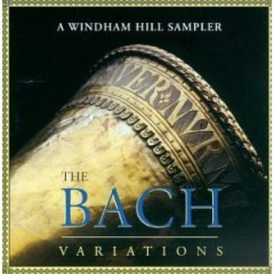 Cover of The Bach Variations - A Windham Hill Sampler