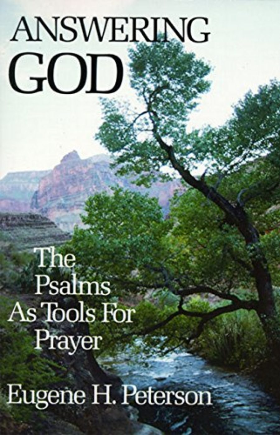 Cover of Answering God: The Psalms as Tools for Prayer