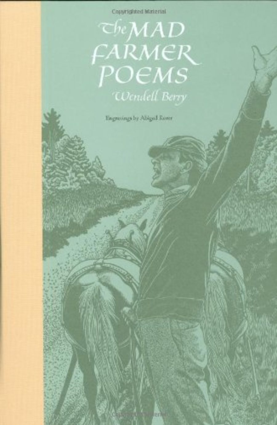 Cover of The Mad Farmer Poems