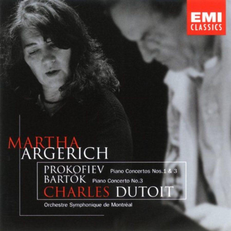 Cover of Prokofiev: Piano Concertos Nos. 1 & 3 / Bartok: Piano Concerto No. 3