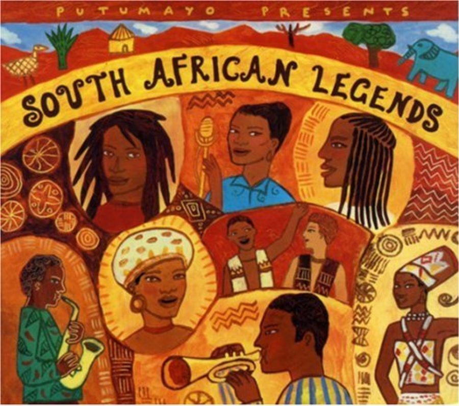 Cover of South African Legends