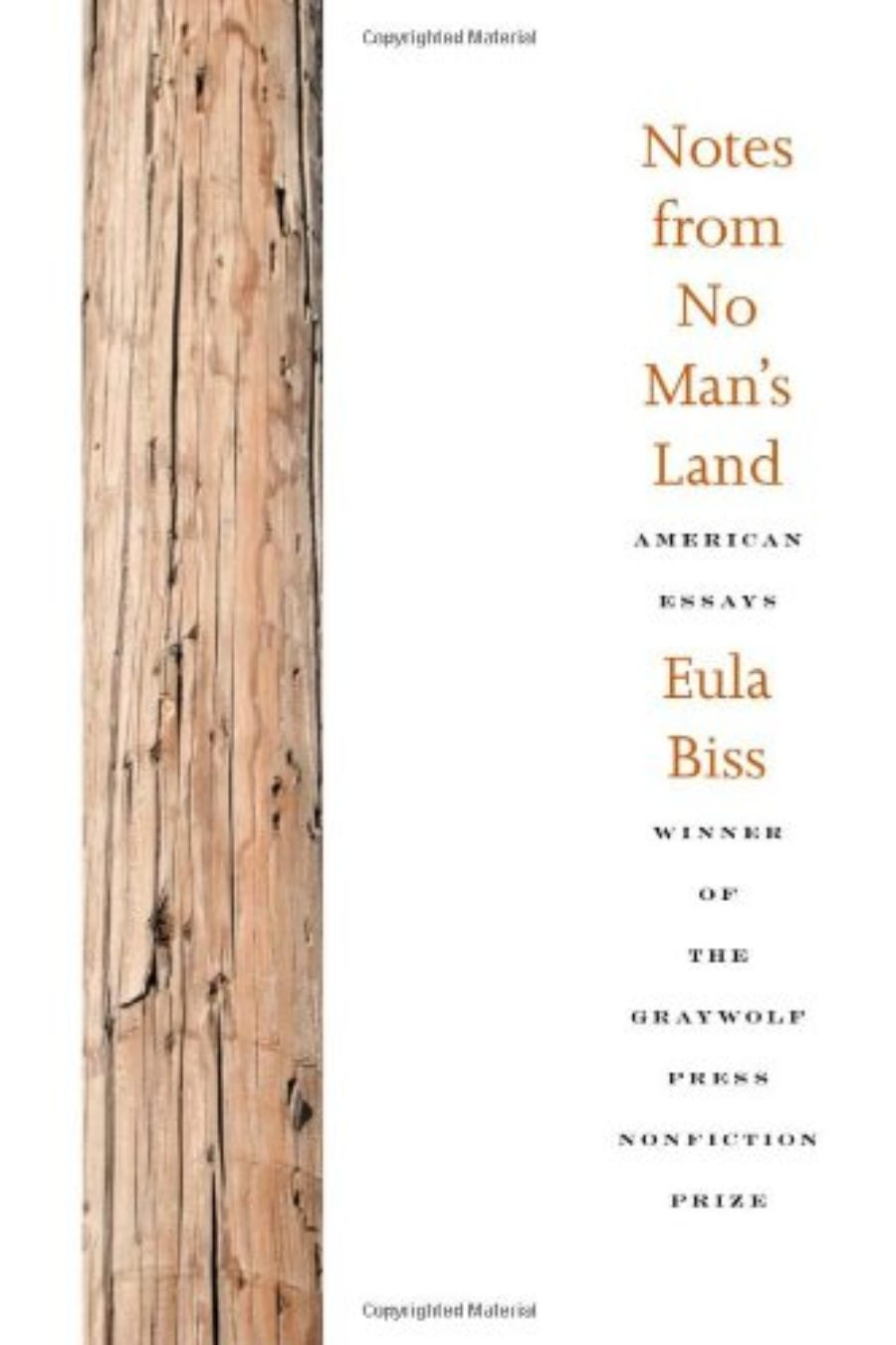 Cover of Notes from No Man's Land: American Essays