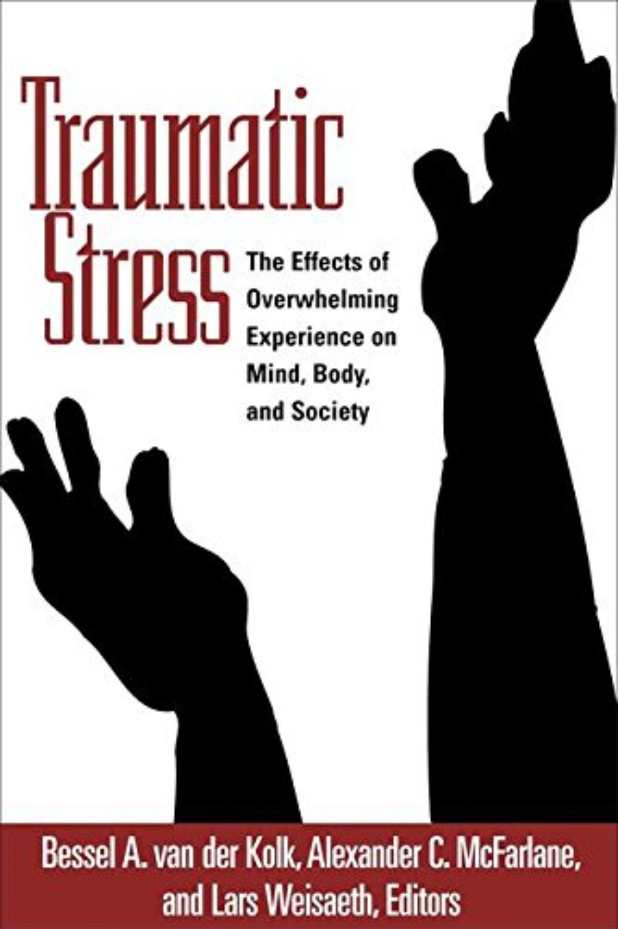 Cover of Traumatic Stress: The Effects of Overwhelming Experience on Mind, Body, and Society