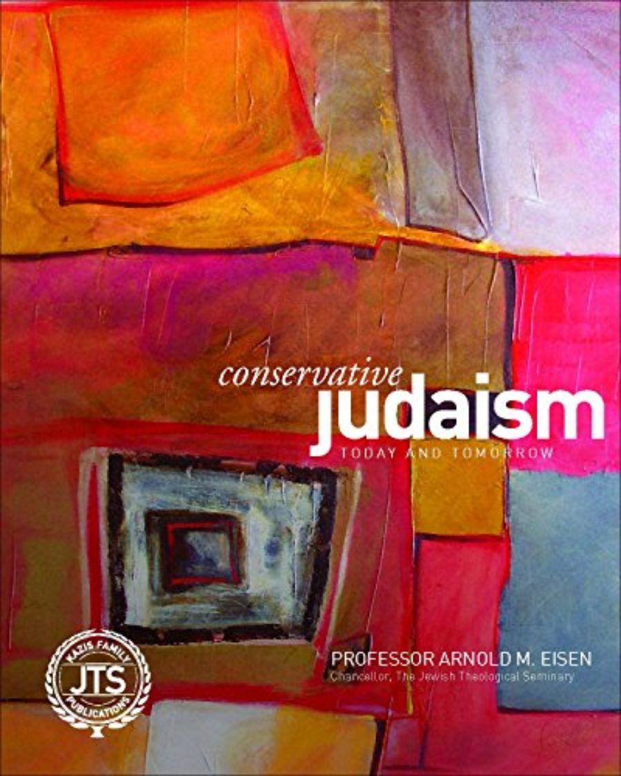 Cover of Conservative Judaism Today and Tomorrow