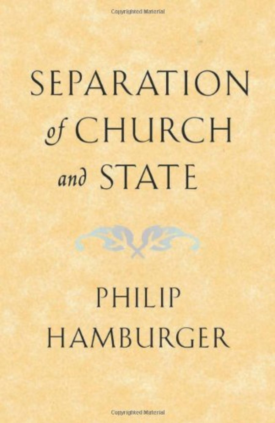 Cover of Separation of Church and State