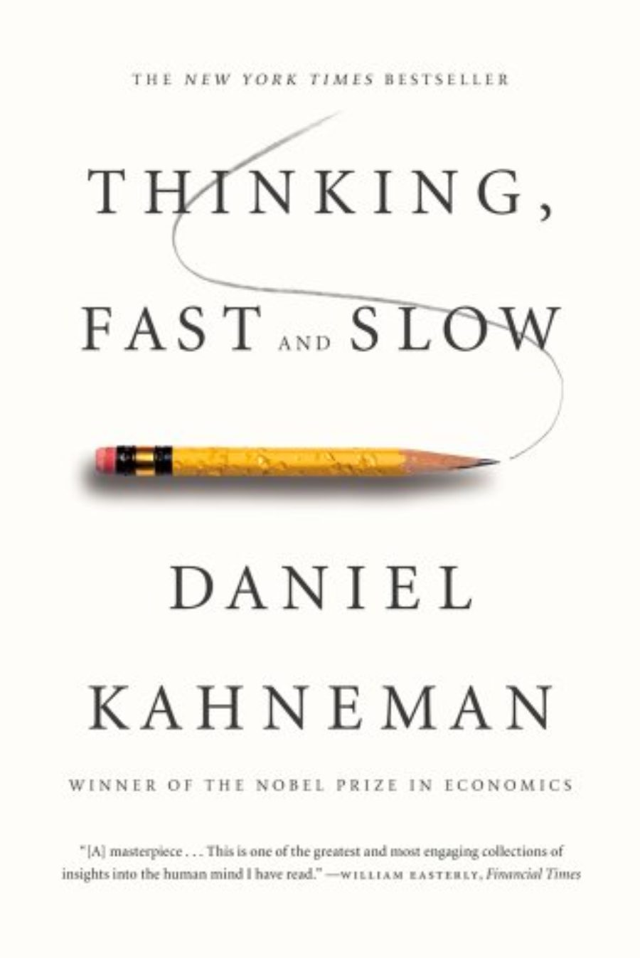 Cover of Thinking, Fast and Slow