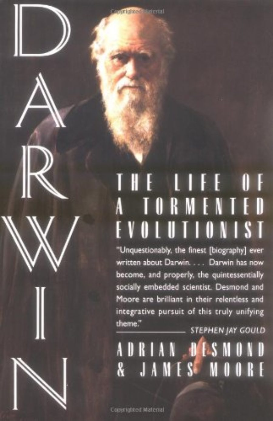 Cover of Darwin: The Life of a Tormented Evolutionist