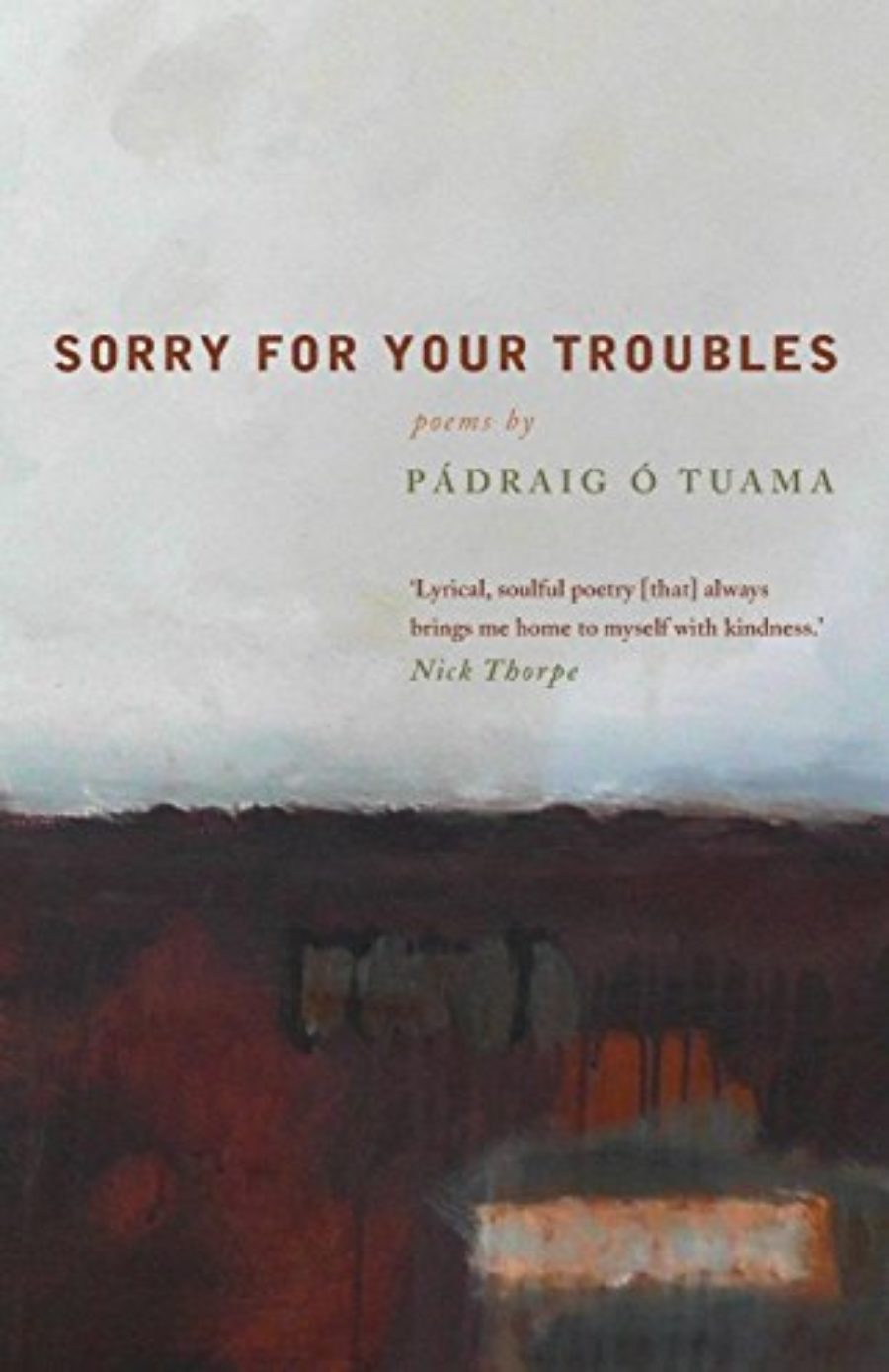 Cover of Sorry For Your Troubles