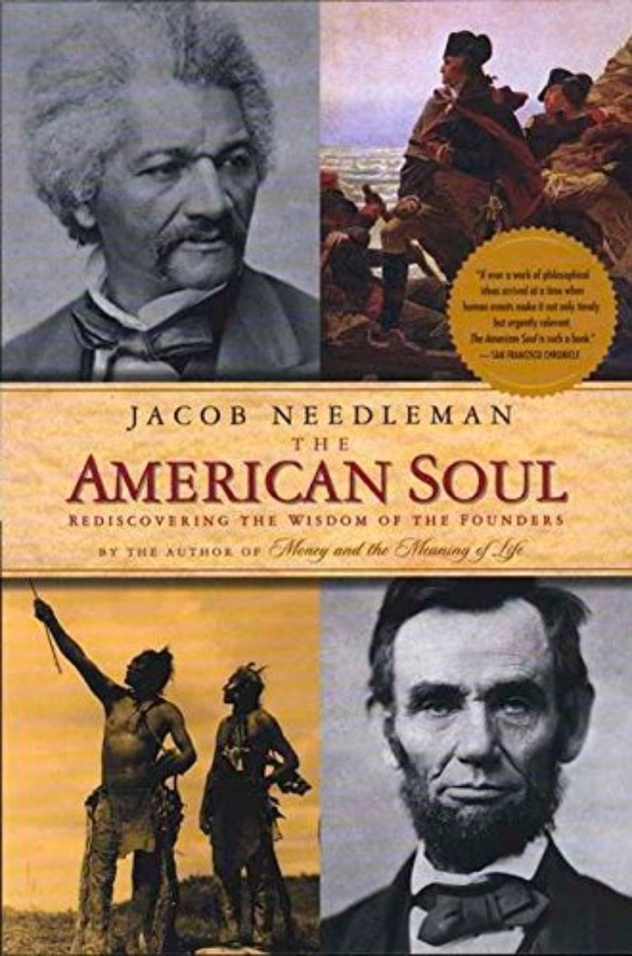 Cover of The American Soul: Rediscovering the Wisdom of the Founders