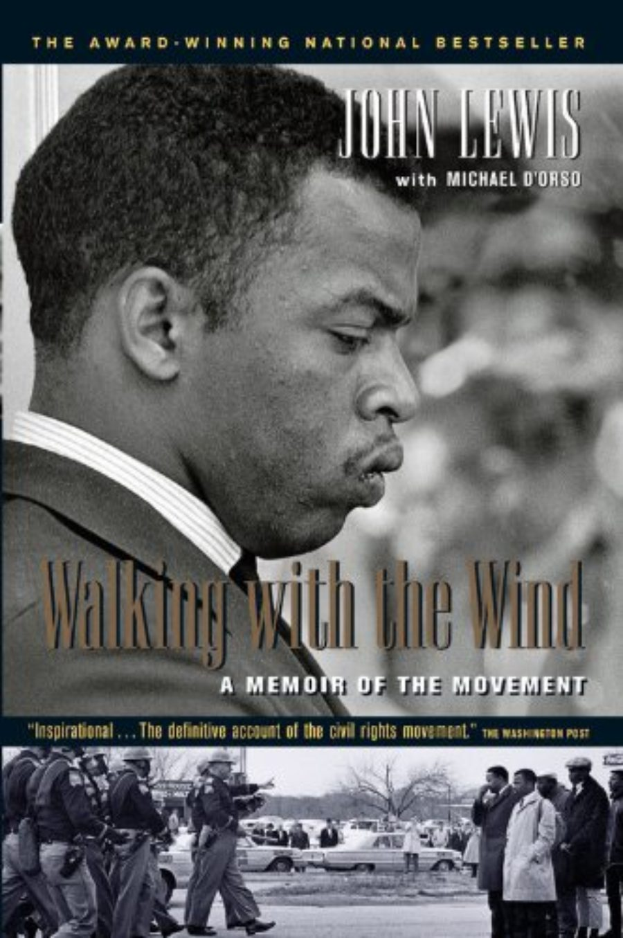 Cover of Walking with the Wind: A Memoir of the Movement