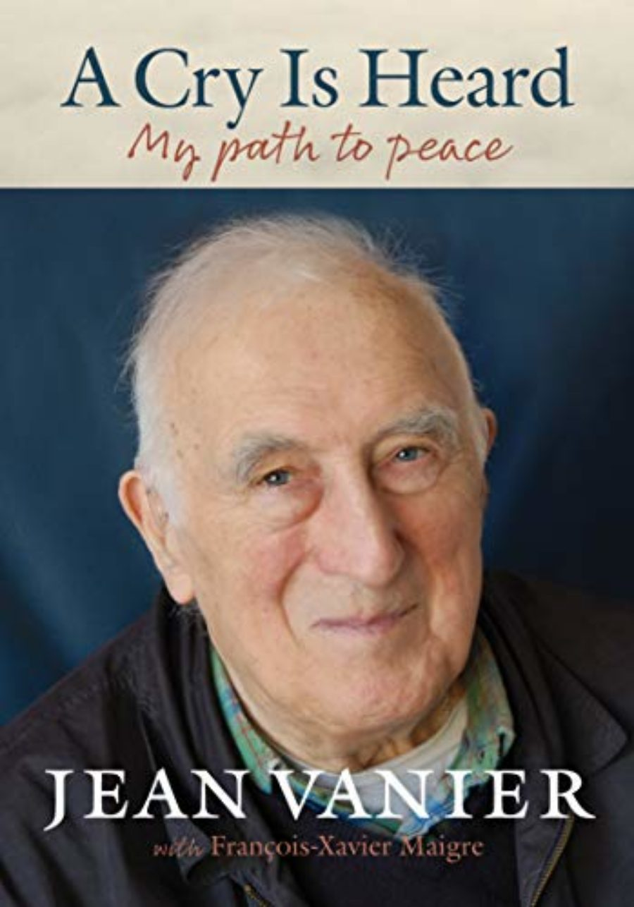 Cover of A Cry Is Heard: My Path to Peace