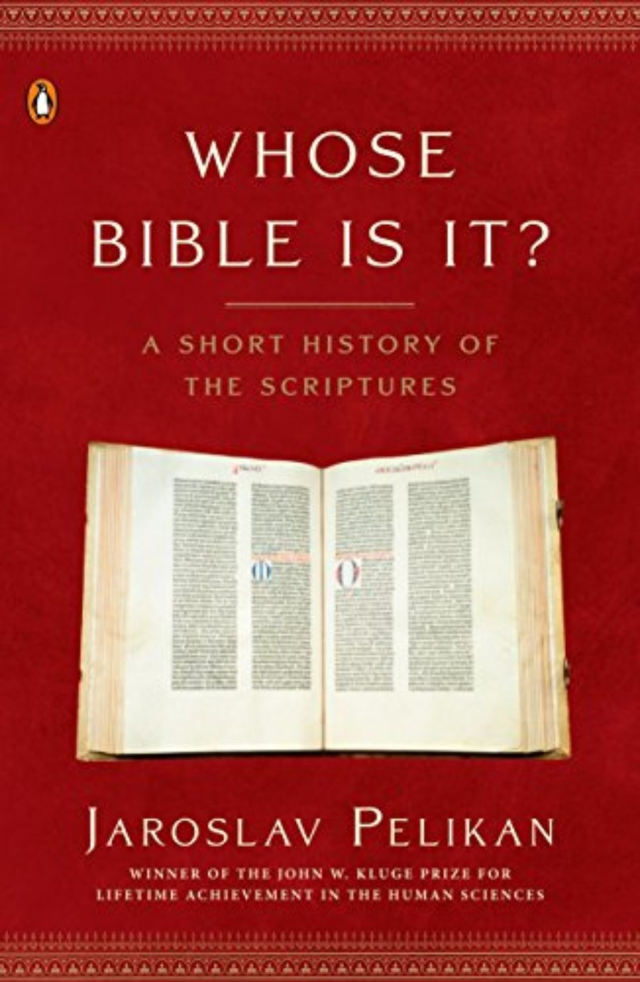 Cover of Whose Bible Is It?: A Short History of the Scriptures