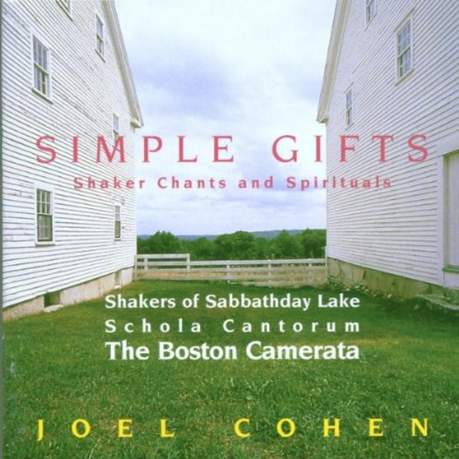Cover of Simple Gifts: Shaker Chants and Spirituals