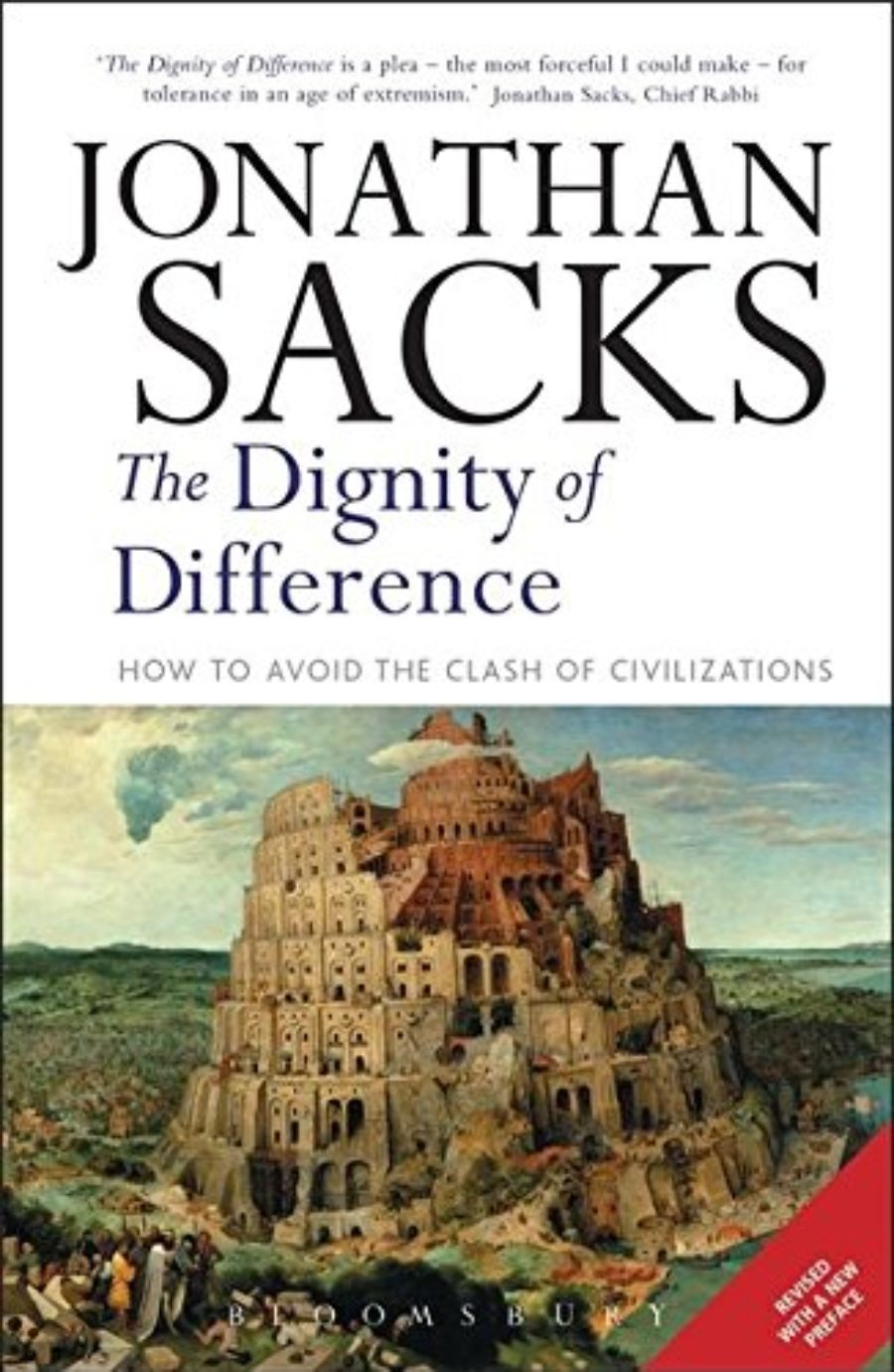 Cover of The Dignity of Difference: How to Avoid the Clash of Civilizations