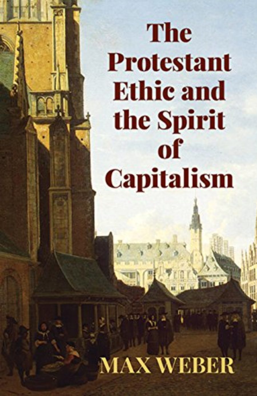 Cover of The Protestant Ethic and the Spirit of Capitalism (Economy Editions)