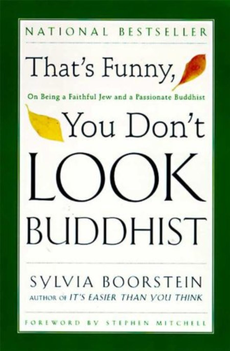 Cover of That's Funny, You Don't Look Buddhist: On Being A Faithful Jew and a Passionate (Philosophies, and Movements; 11)
