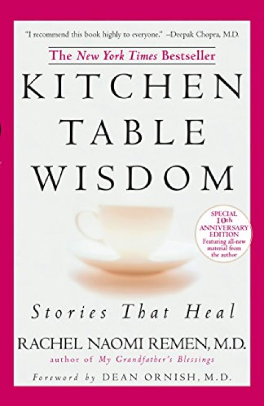 Cover of Kitchen Table Wisdom: Stories that Heal, 10th Anniversary Edition