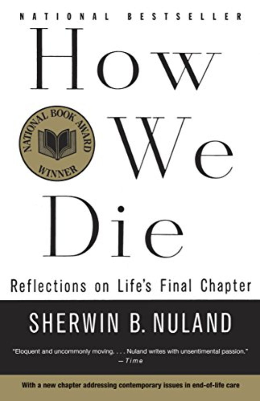 Cover of How We Die: Reflections of Life's Final Chapter, New Edition