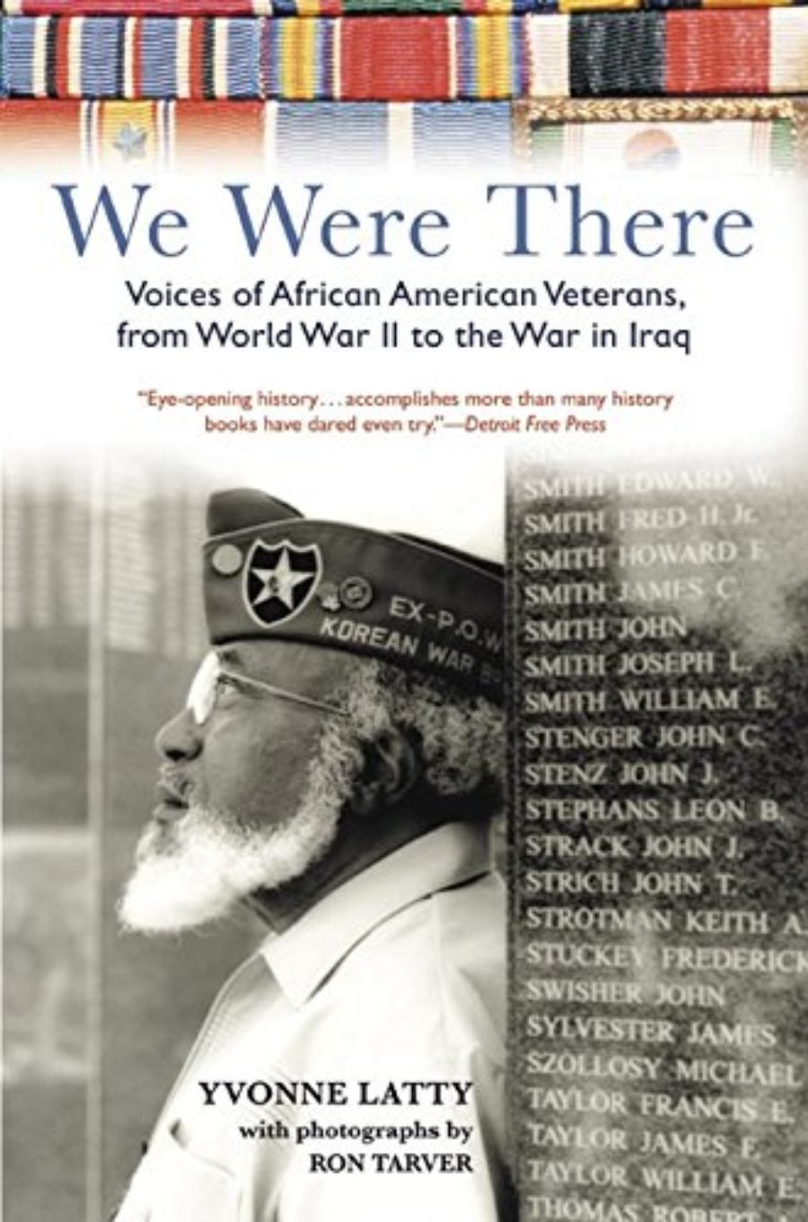 Cover of We Were There: Voices of African American Veterans, from World War II to the War in Iraq