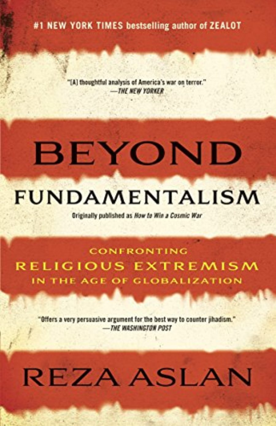 Cover of Beyond Fundamentalism: Confronting Religious Extremism in the Age of Globalization