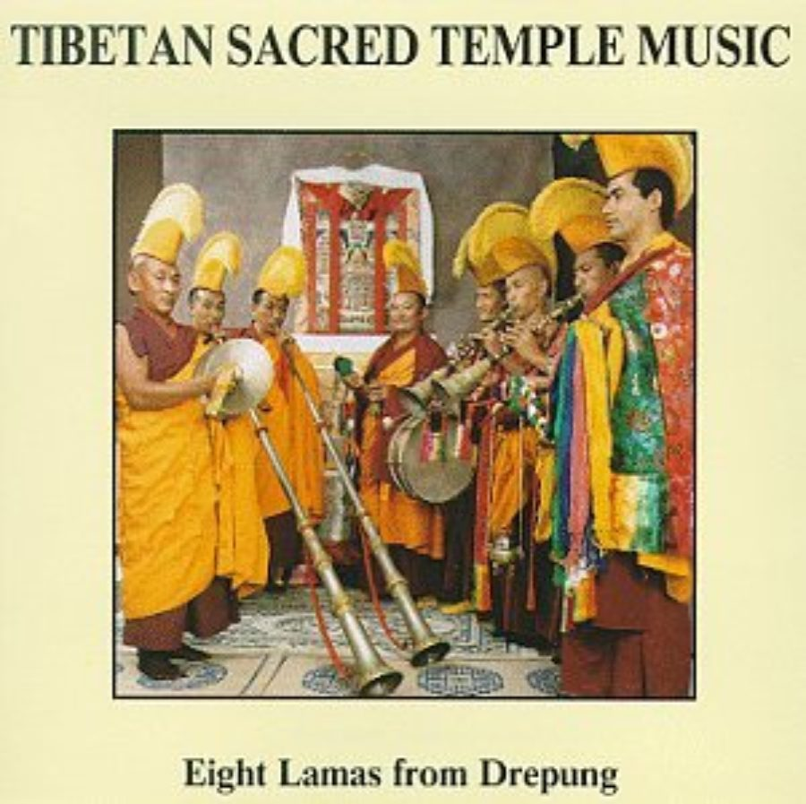 Cover of Tibetan Sacred Temple Music