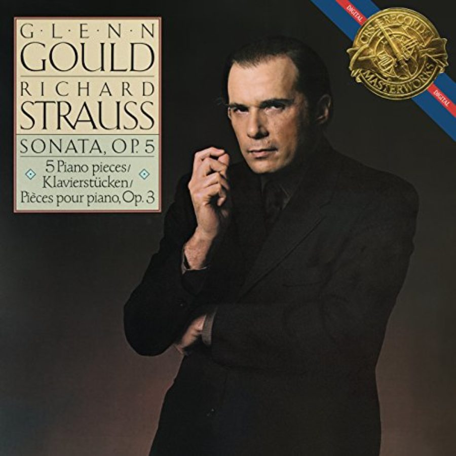 Cover of Strauss: Piano Sonata, Op. 5 & Fünf Klavierstücke, Op. 3 - Gould Remastered