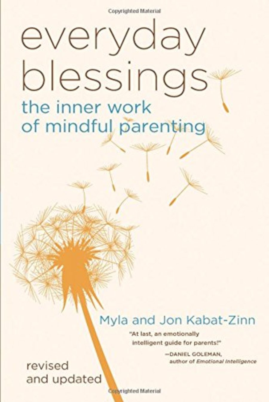 Cover of Everyday Blessings: The Inner Work of Mindful Parenting