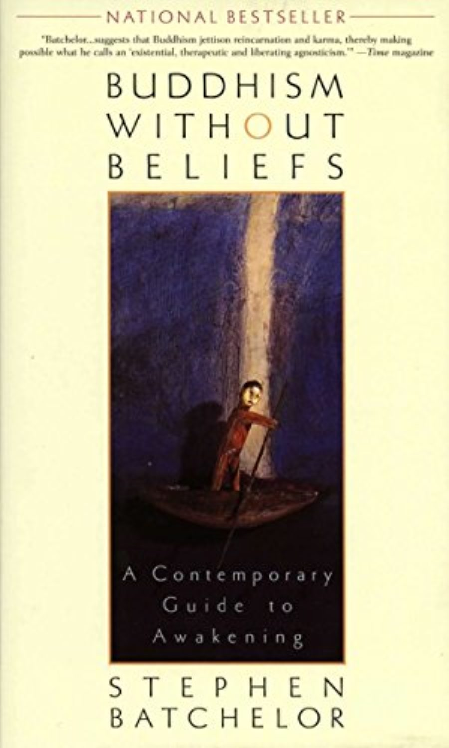Cover of Buddhism Without Beliefs: A Contemporary Guide to Awakening