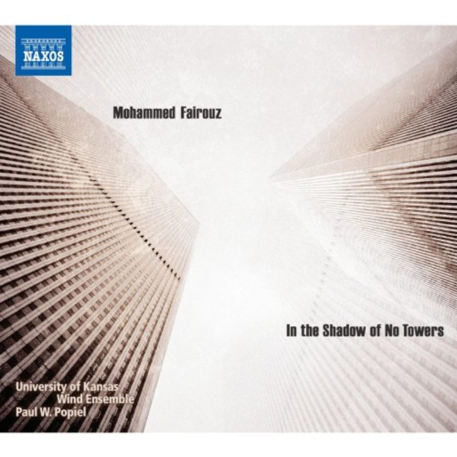 Cover of Glass: Concerto Fantasy for Two Timpanists and Orchestra & Fairouz: Symphony No. 4, 'In the Shadow of No Towers'