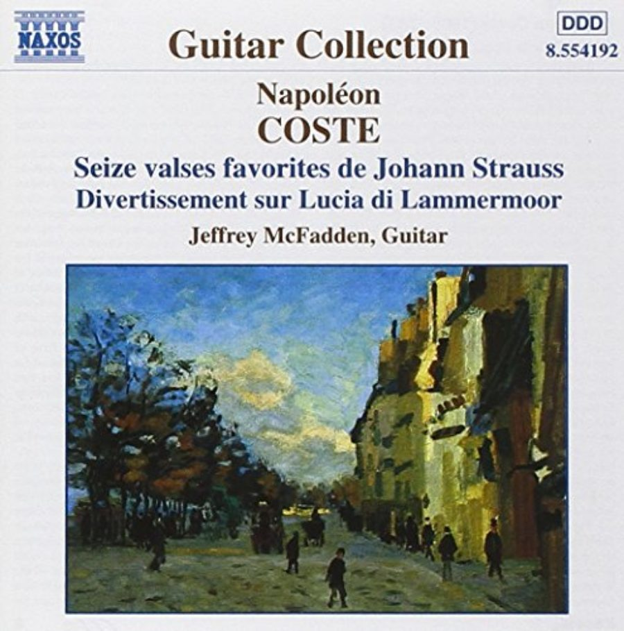 Cover of Napoleon Coste: Guitar Works, Vol. 1