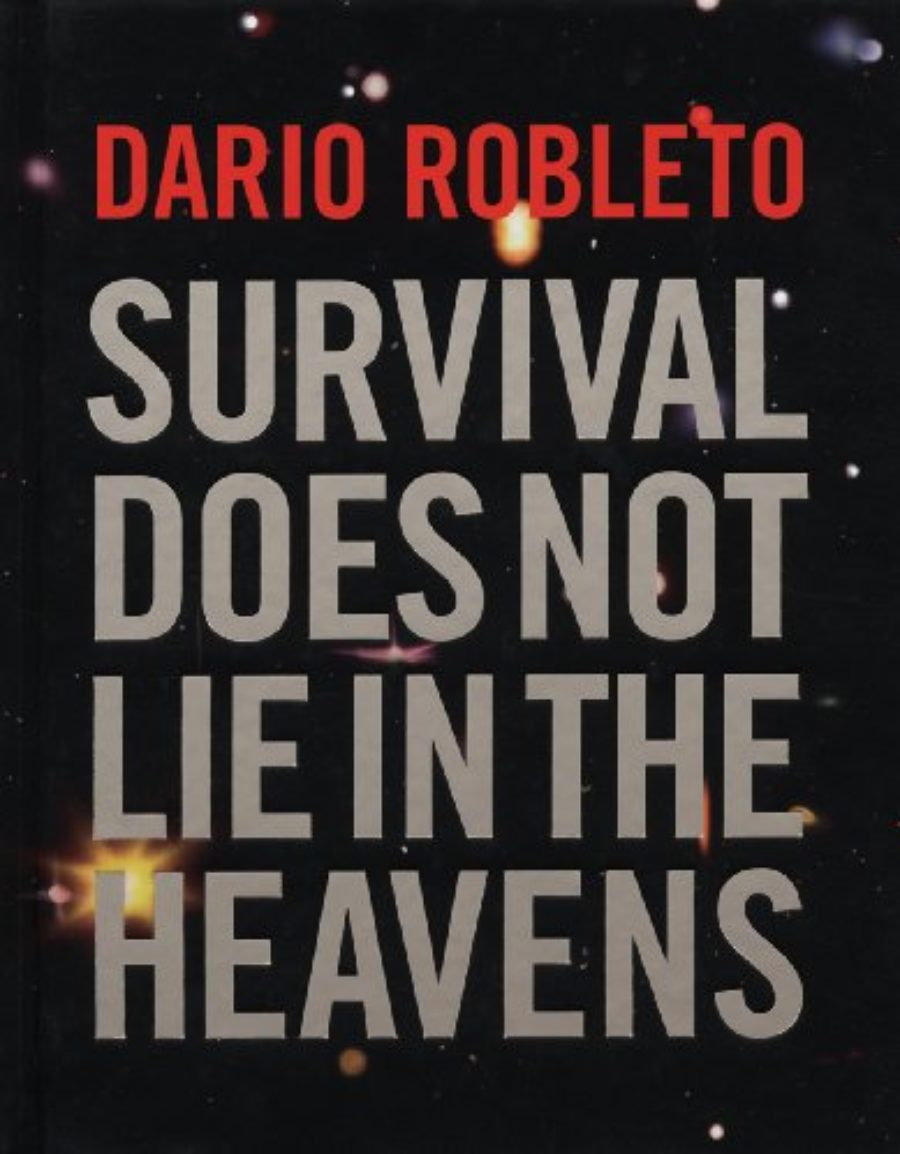 Cover of Dario Robleto: Survival Does Not Lie In The Heavens