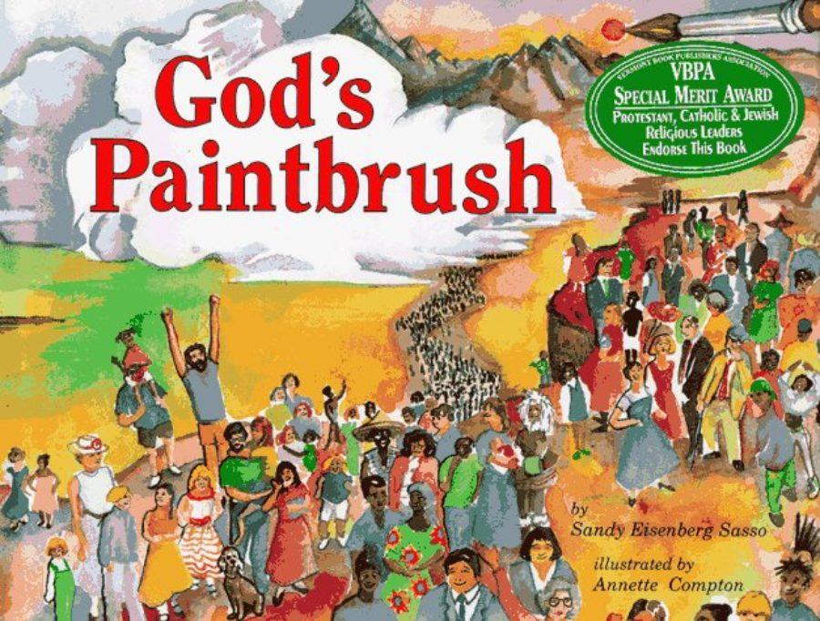 Cover of God's Paintbrush