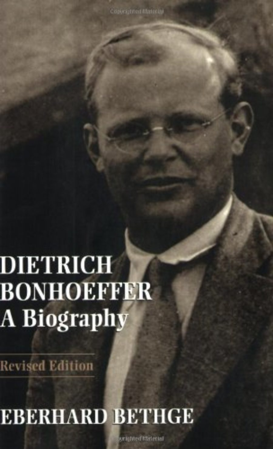 Cover of Dietrich Bonhoeffer: A Biography