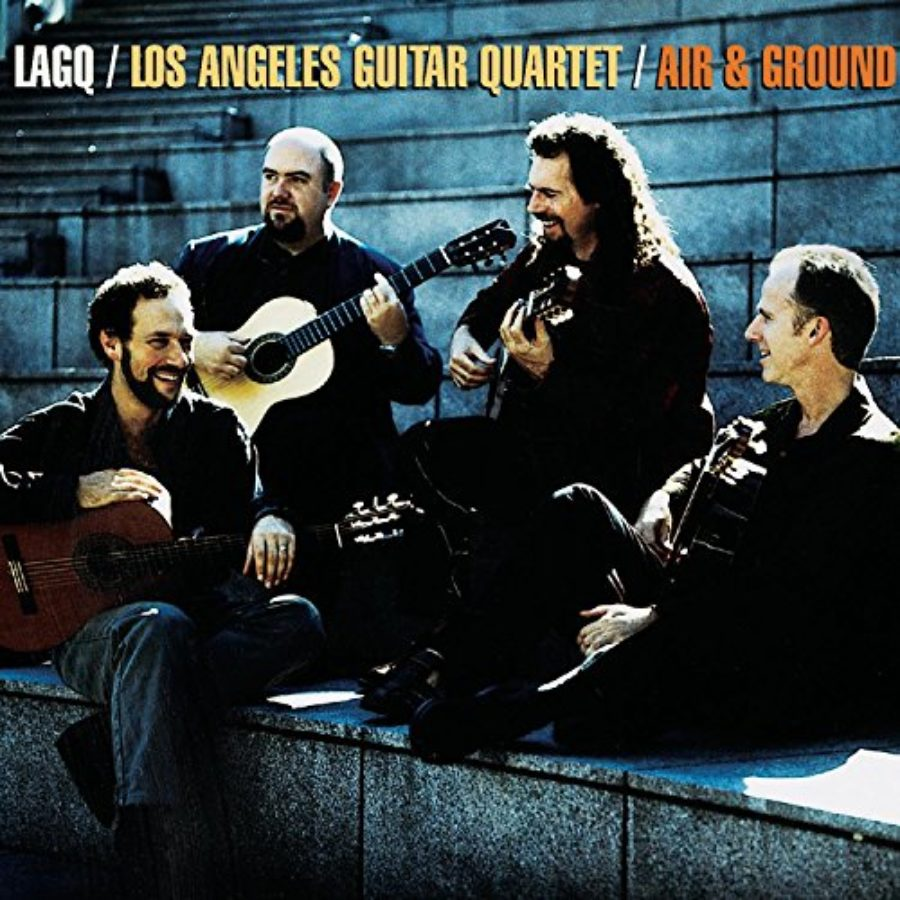 Cover of Los Angeles Guitar Quartet (LAGQ) Air & Ground
