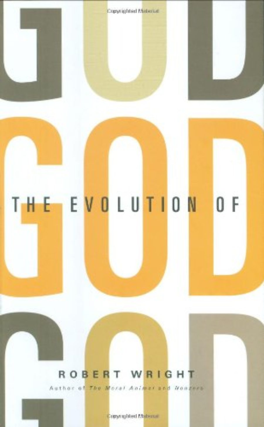 Cover of The Evolution of God