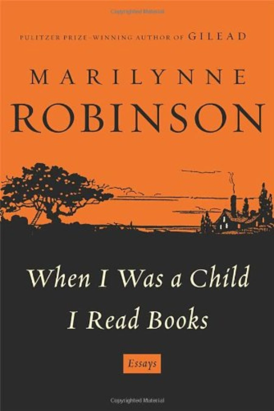 Cover of When I Was a Child I Read Books: Essays