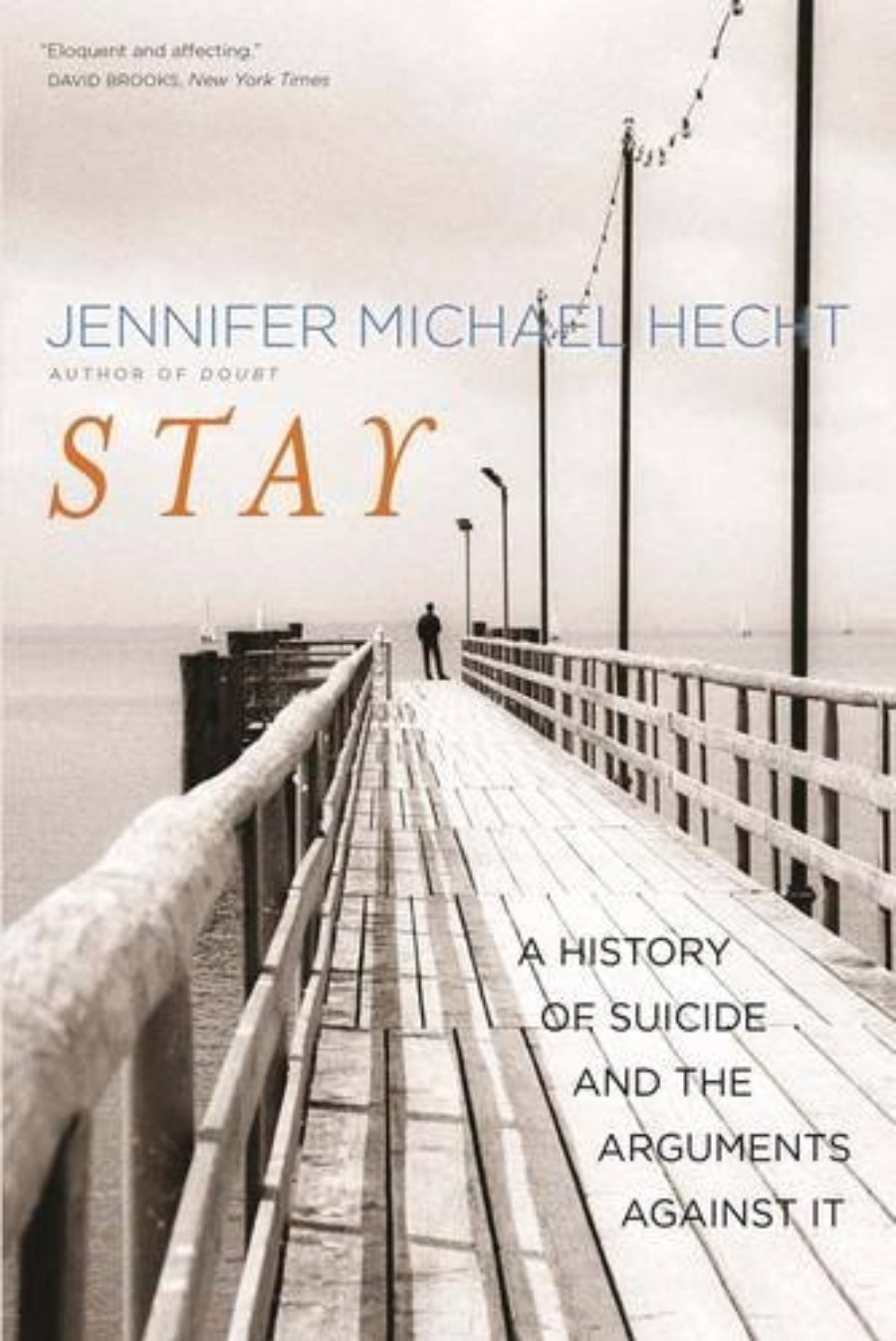 Cover of Stay: A History of Suicide and the Arguments Against It