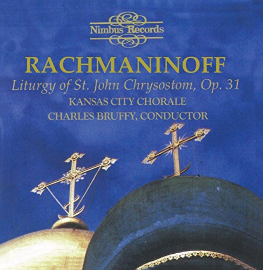 Cover of Rakhmaninov: Liturgy of St. John Chrysostom, Op. 31