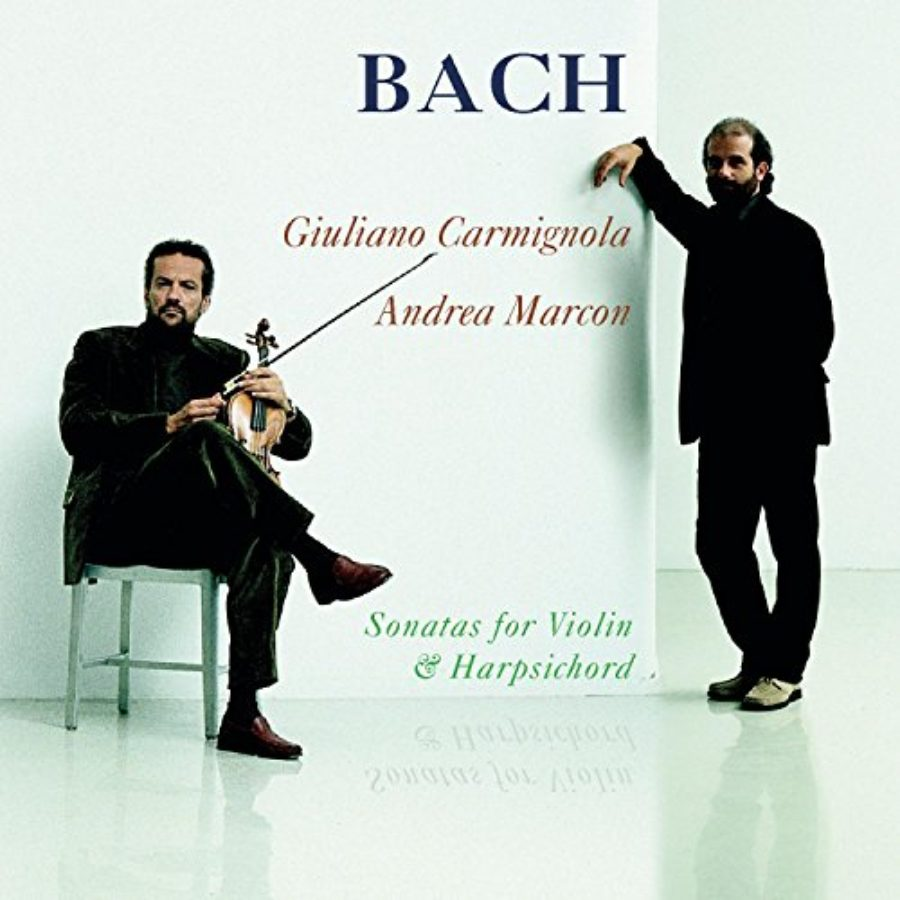 Cover of Bach: Sonatas for Violin and Harpsichord