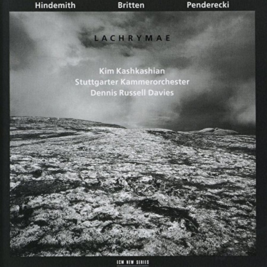 Cover of Lachrymae (+ Hindemith, Penderecki)