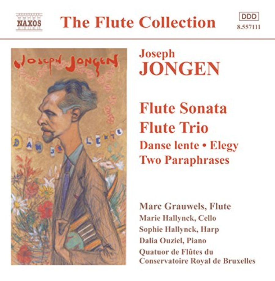 Cover of Flute Sonata, Op. 77: III. Modere