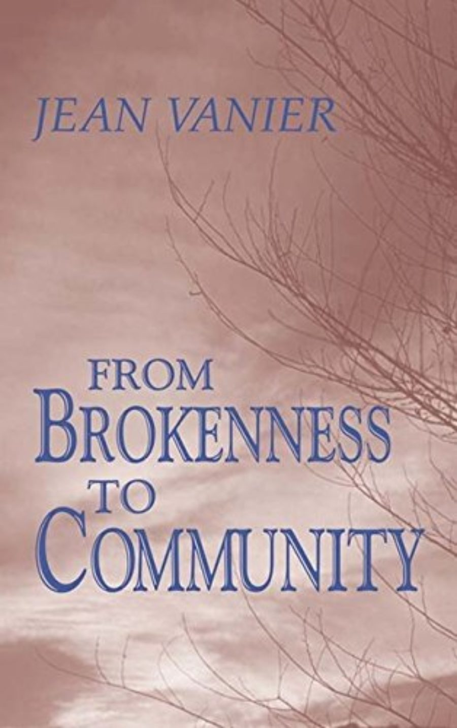 Cover of From Brokenness to Community (Harold M. Wit Lectures)
