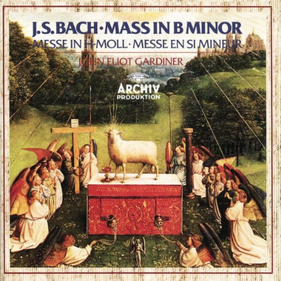 Cover of Bach: Mass in B minor