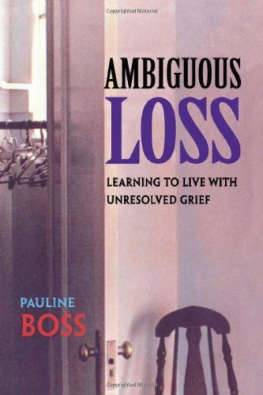 Cover of Ambiguous Loss: Learning to Live with Unresolved Grief